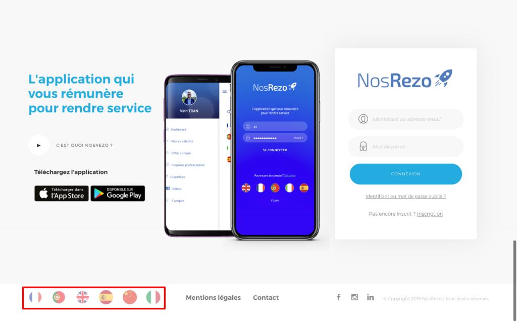 Site web de NosRezo